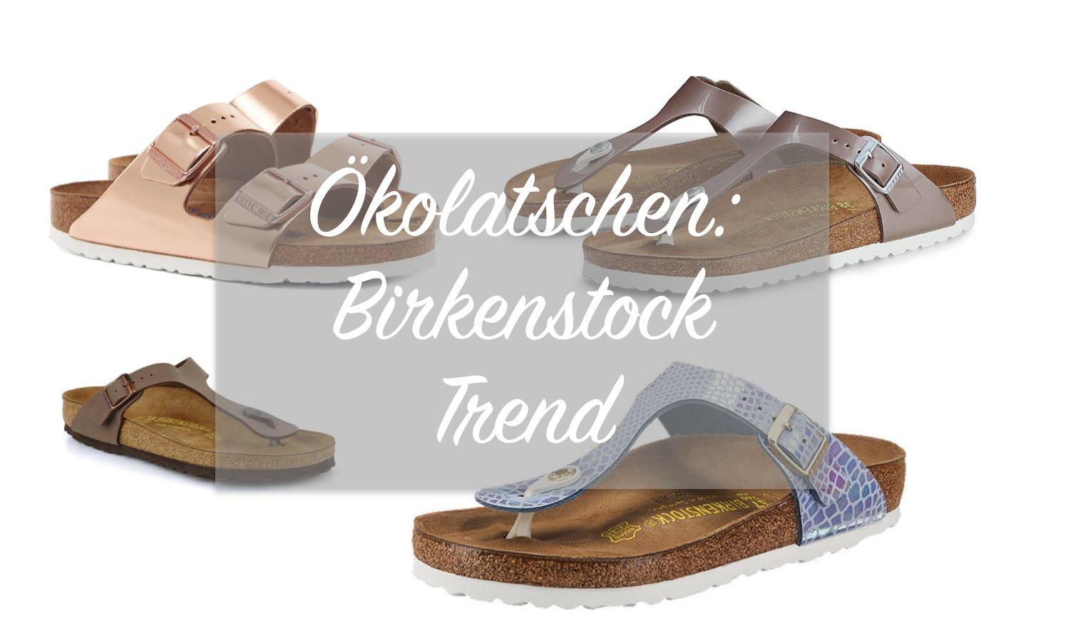 brand new 7f946 e5bbe Ökolatschen: Der stylische Birkenstock Trend | Fashion