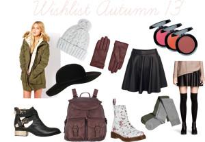Wishlist Autumn