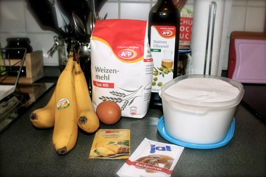 zutaten bananenbrot einfach