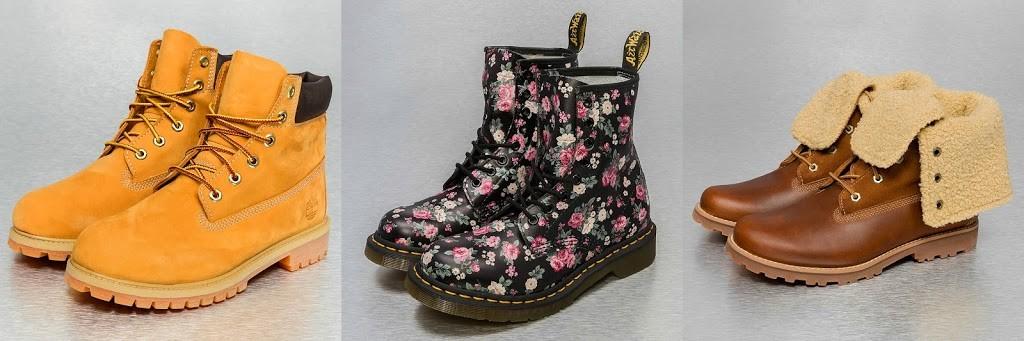 boots von defshop Inspiration Herbst winter docs timberland