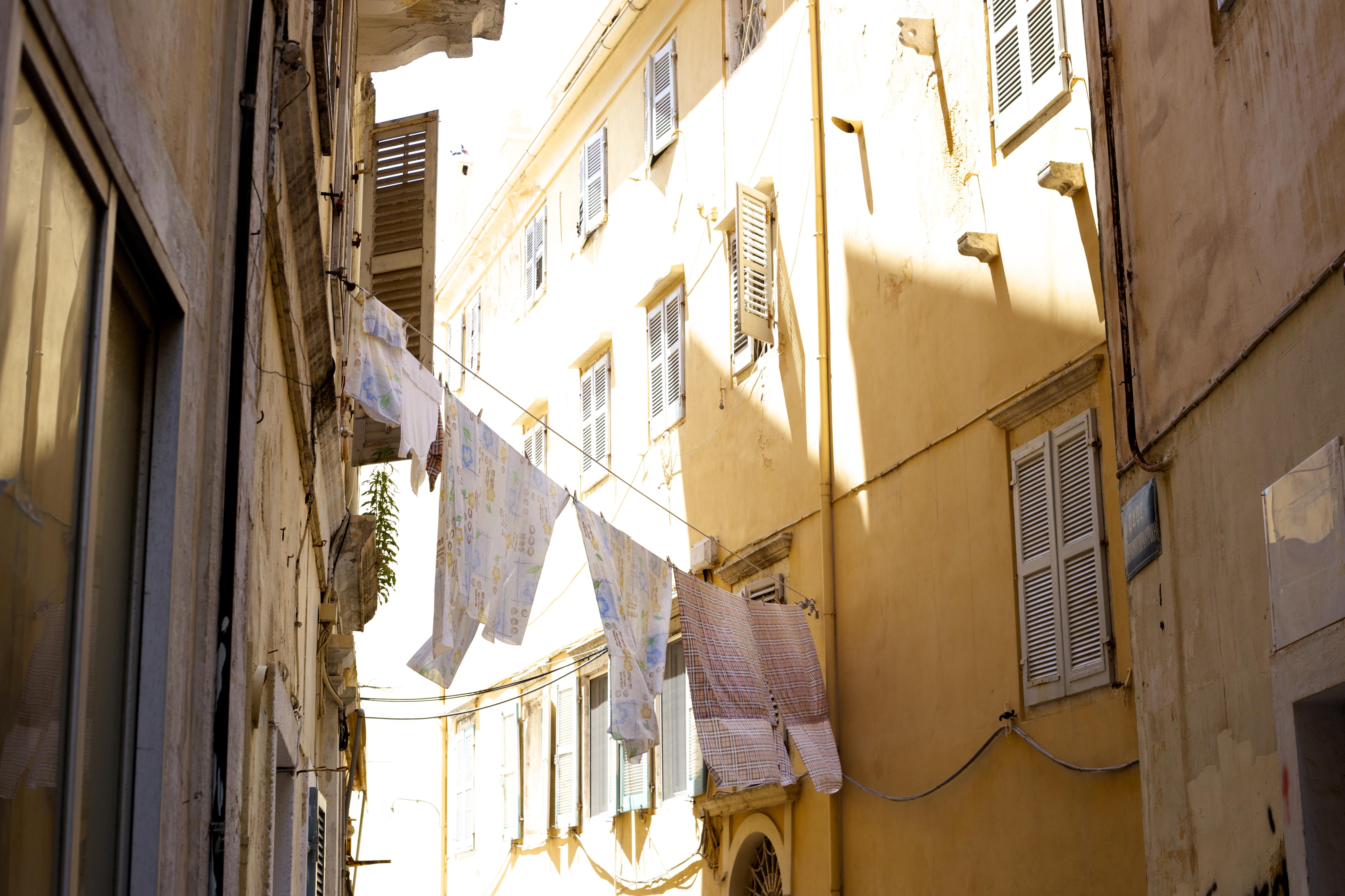 Korfu innenstadt eindruck