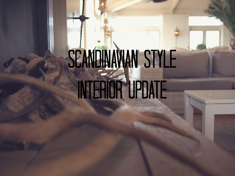 Interior Update - skandinavisch ohne jeglichen Schnick Schnack
