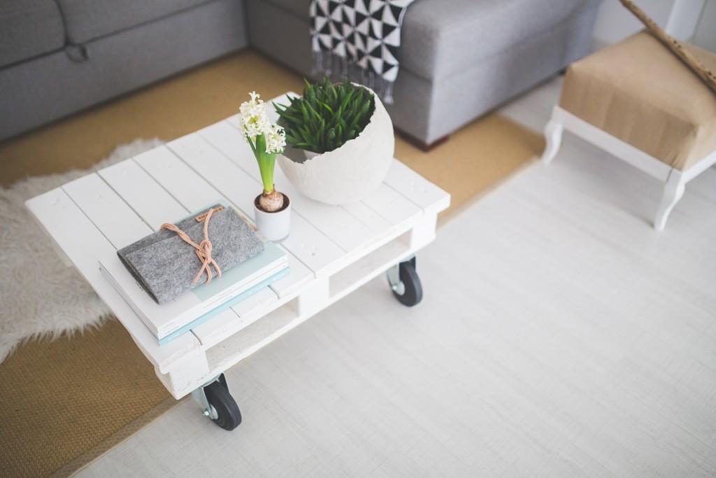 skandinavisch interior minimalistisch
