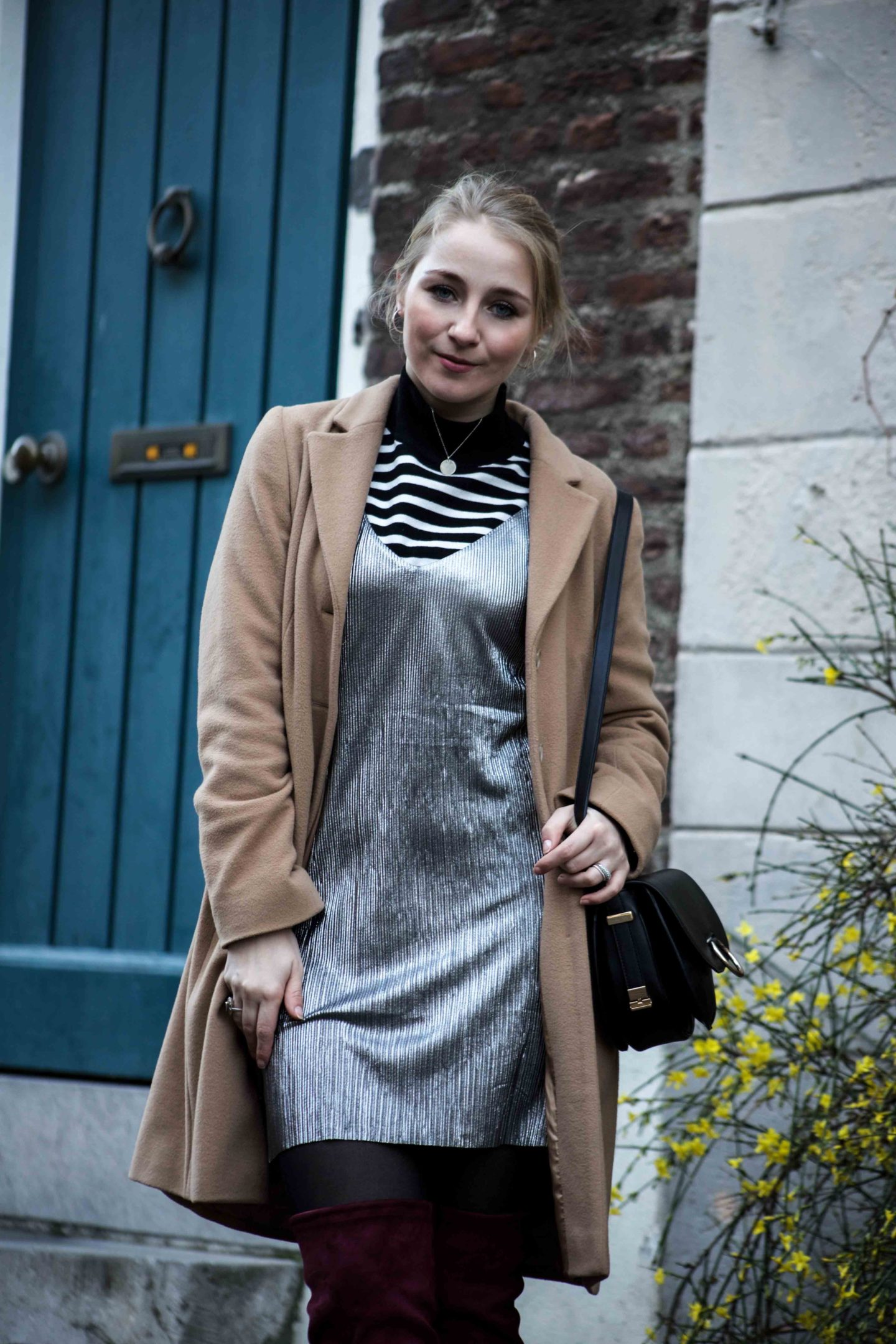 silvester outfit slip dress