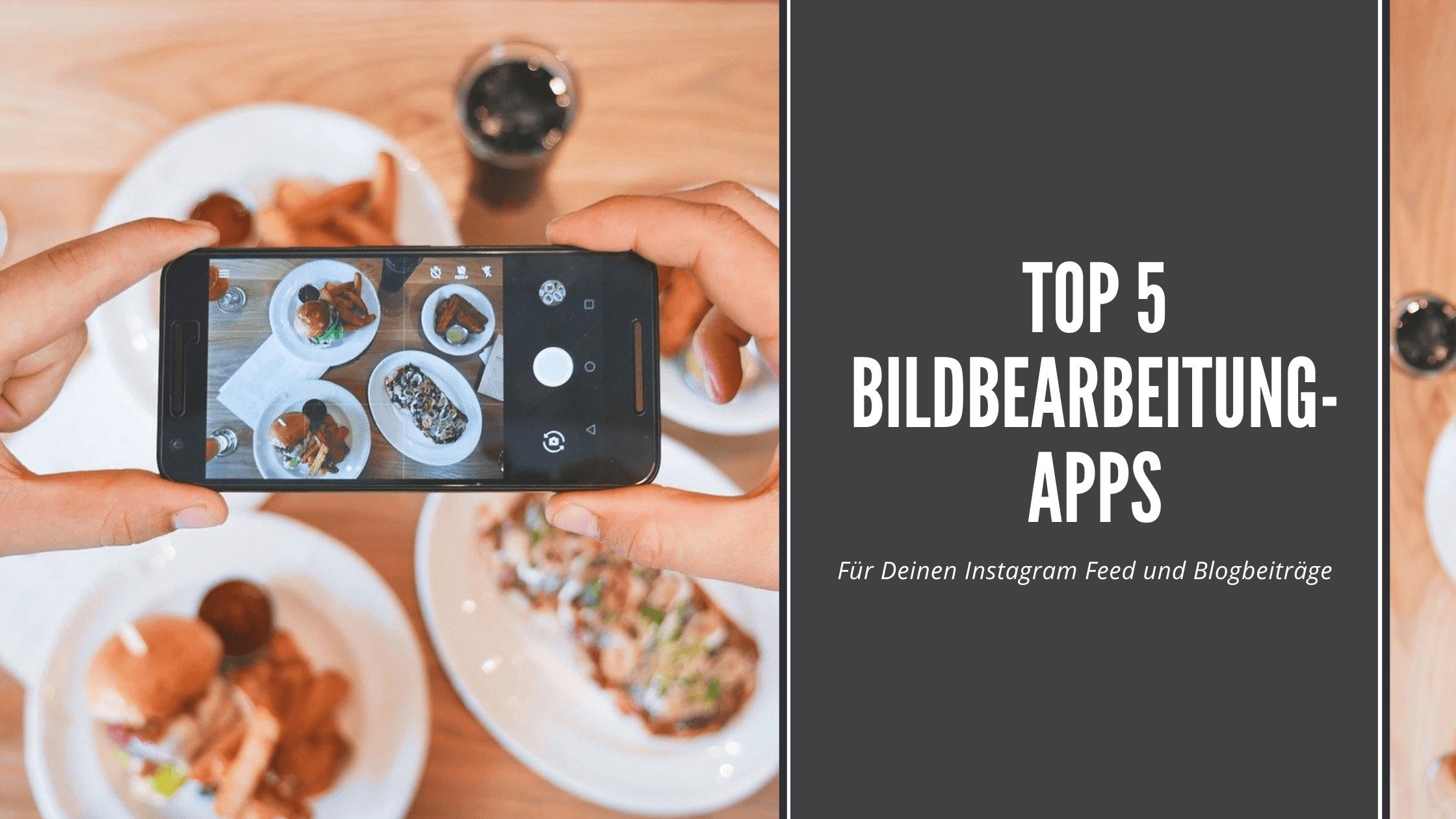 Top 5 Bildbearbeitung-apps