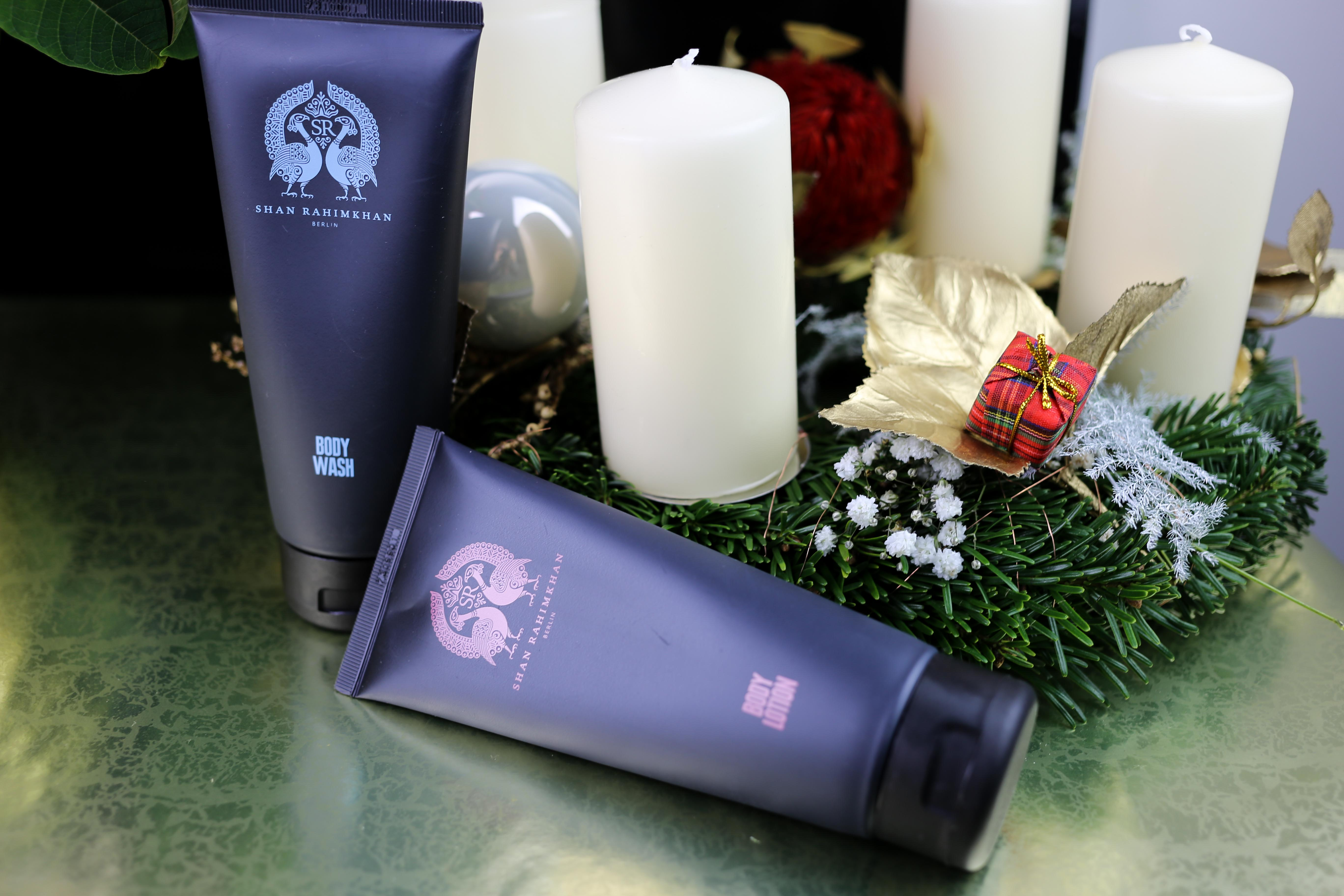 Shan-Rahimkhan-Pflegeset-Shampoo-Duschgel-Wellness-Beauty