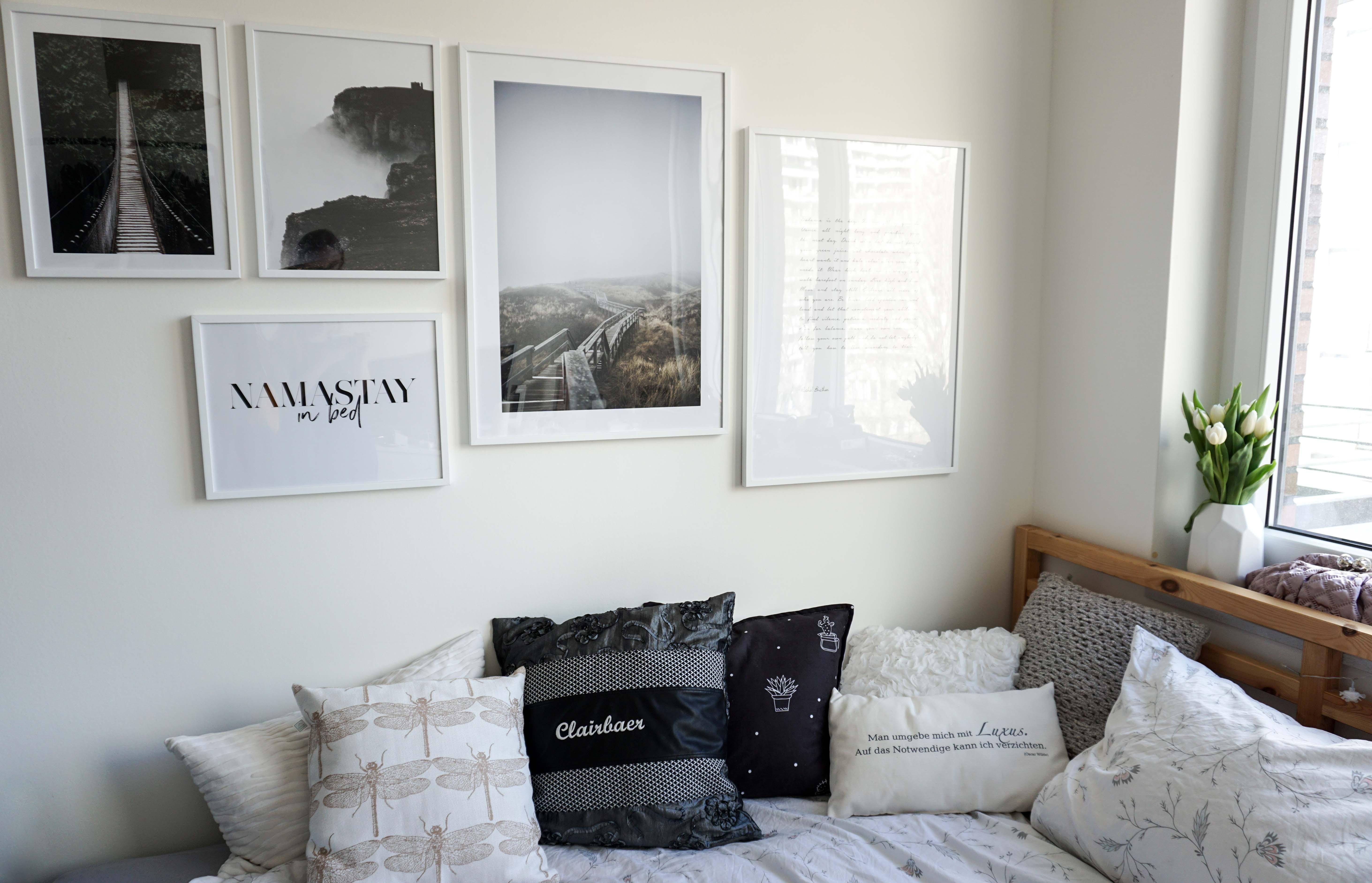 bilderwand gestalten tipps und ideen f r bilderw nde anordnung und auswahl. Black Bedroom Furniture Sets. Home Design Ideas