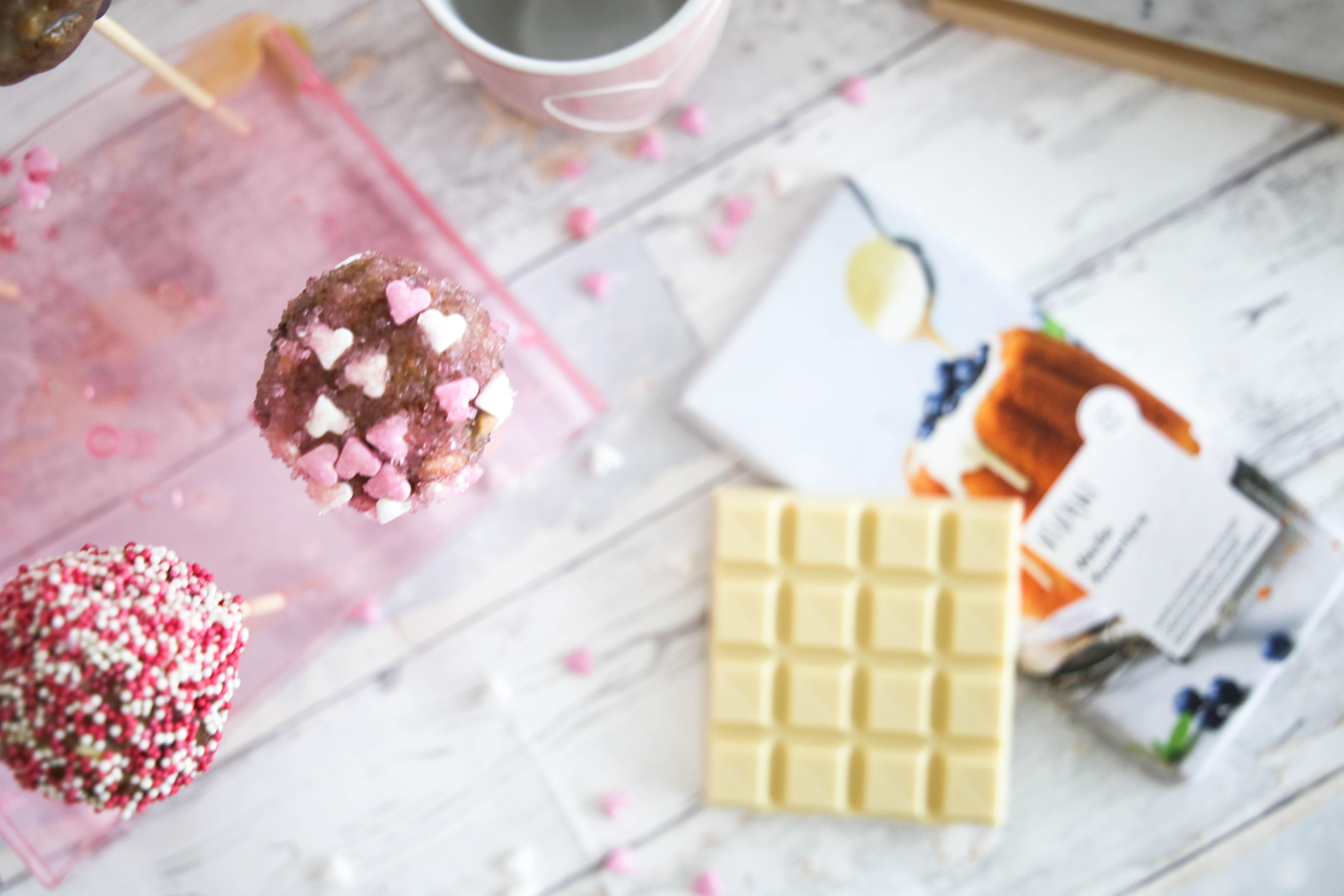 Cake Pops Rezept Geschenk Zum Valentinstag Mit Vivani Schokolade