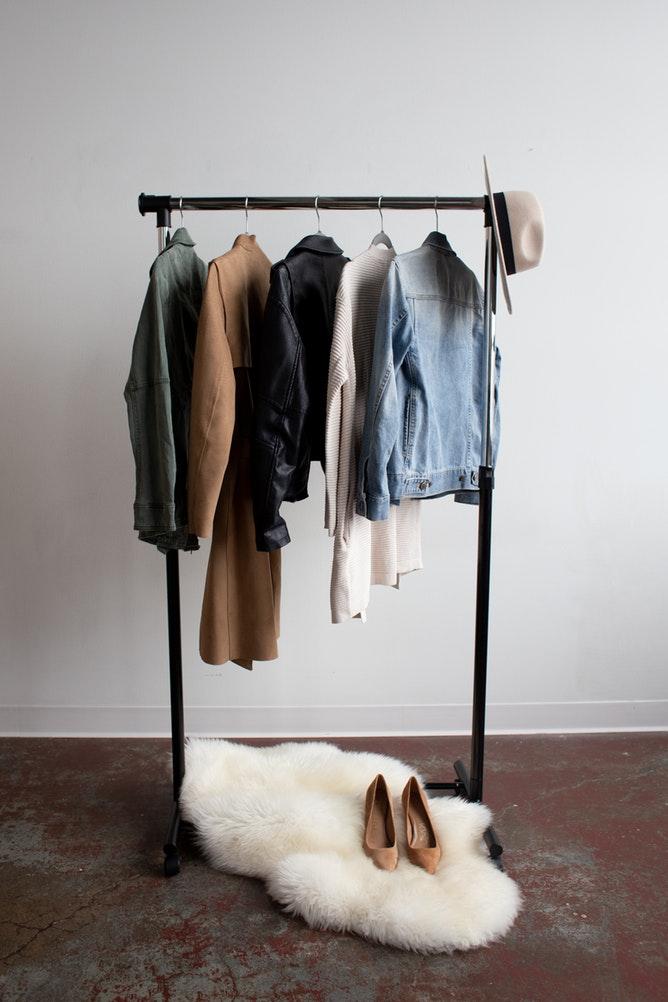 flur gestalten Wohnung interior Garderobe