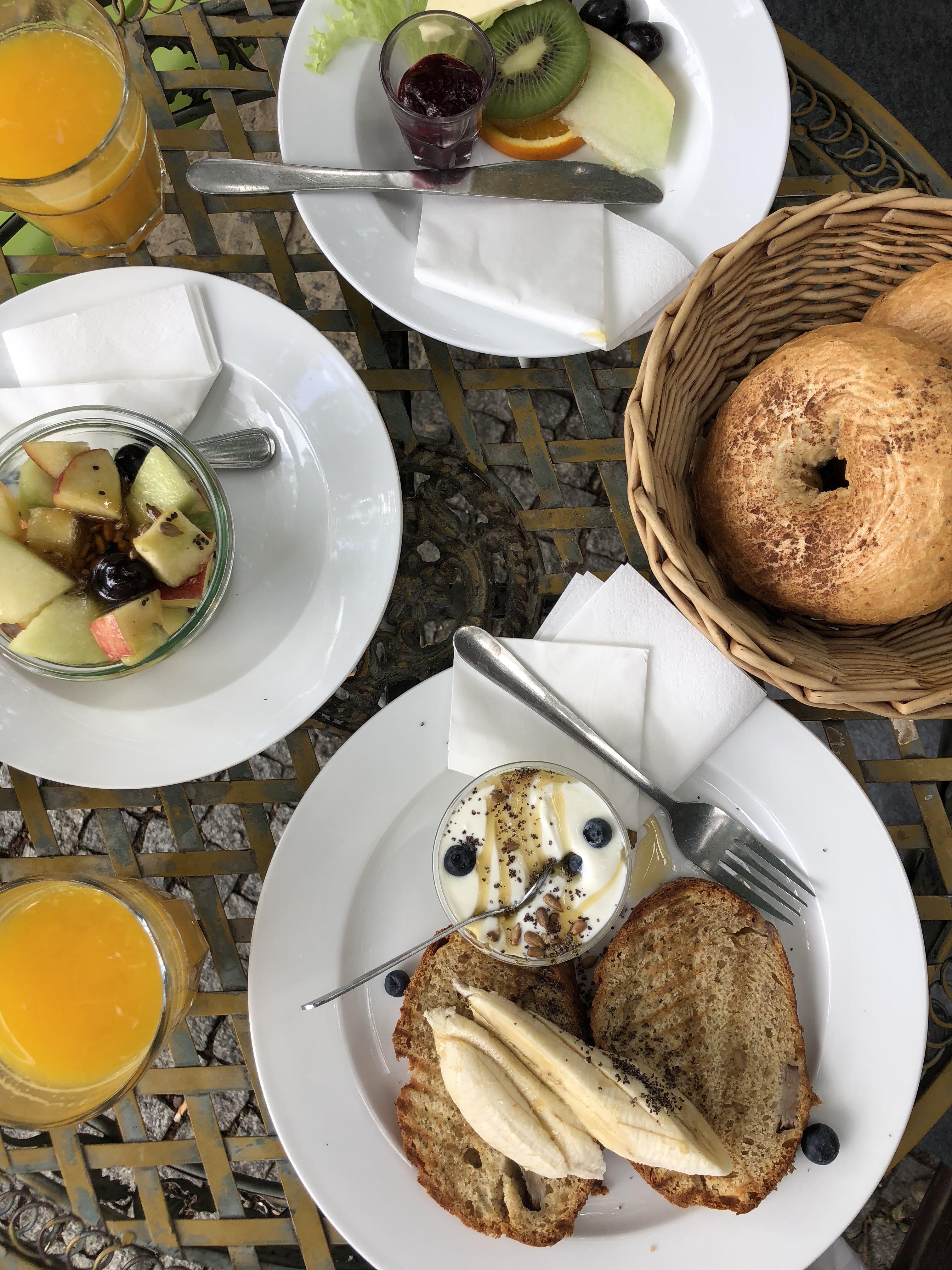 cafe ahorn berlin frühstück