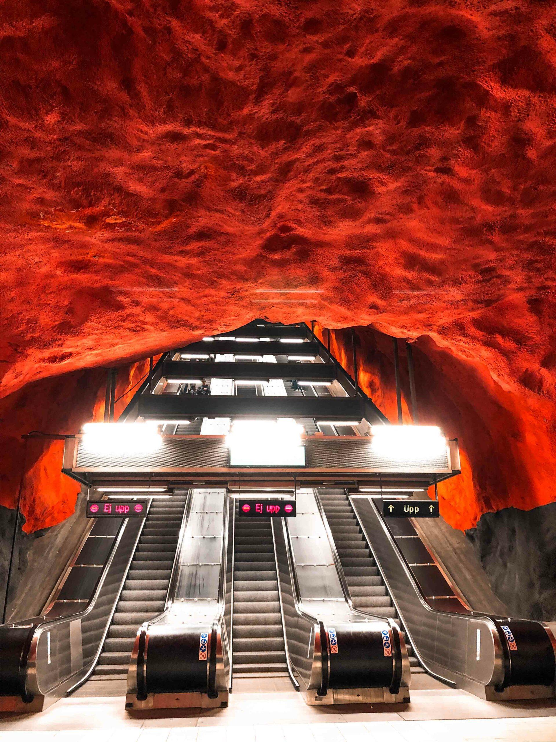 stockholm u-bahn kunst