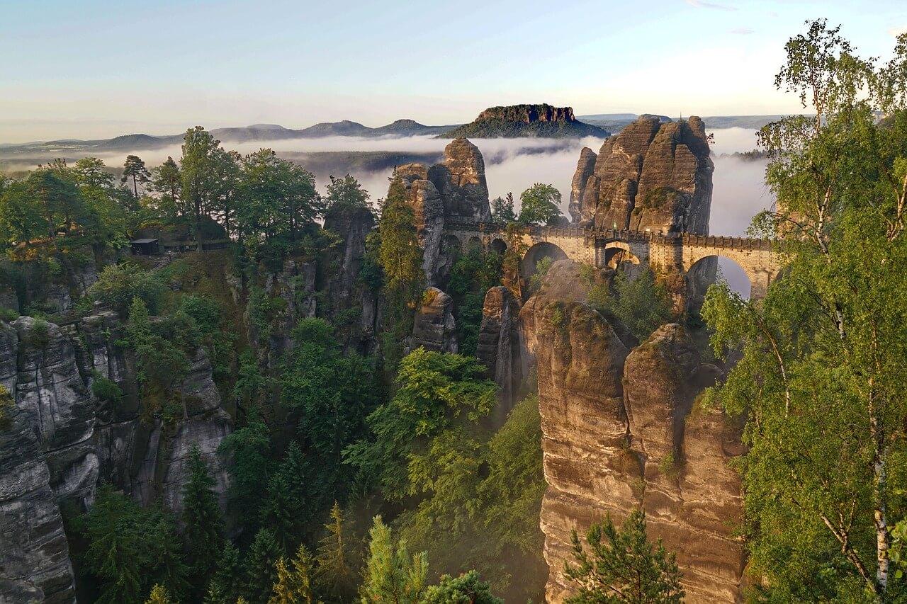 Urlaub in Deutschland Ausflüge Sächsische Schweiz Bastei