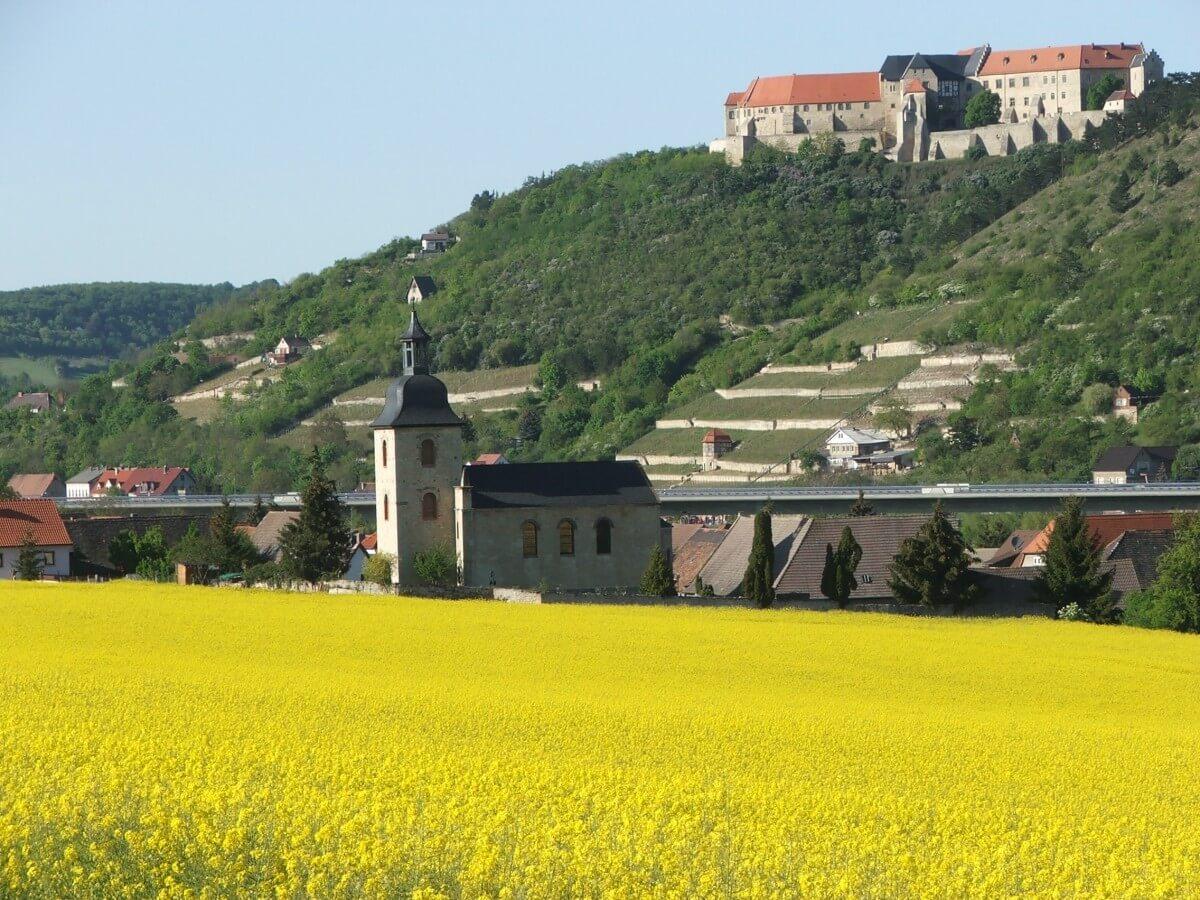 Urlaub in Deutschland Ausflüge Saale Unstrut Gebiet
