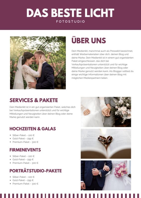 Media-Kit-Hochzeitfotograf-Beispiel
