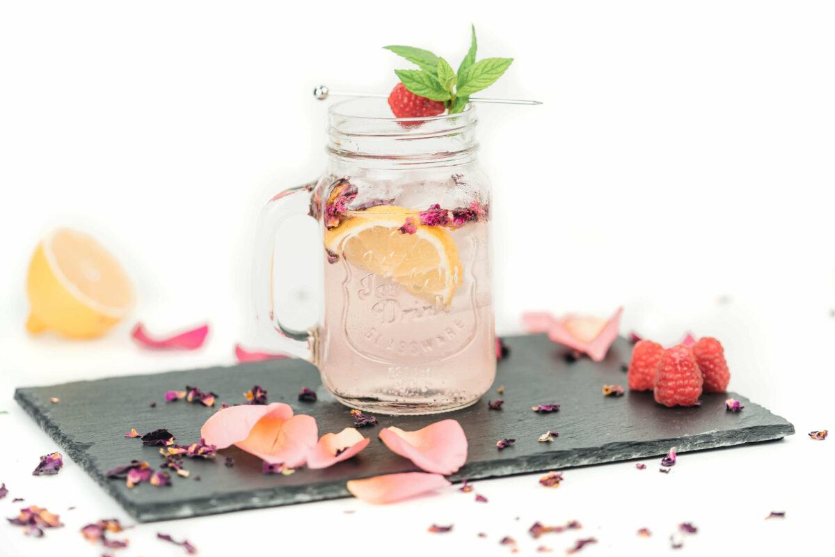 rosenlimonade rezept