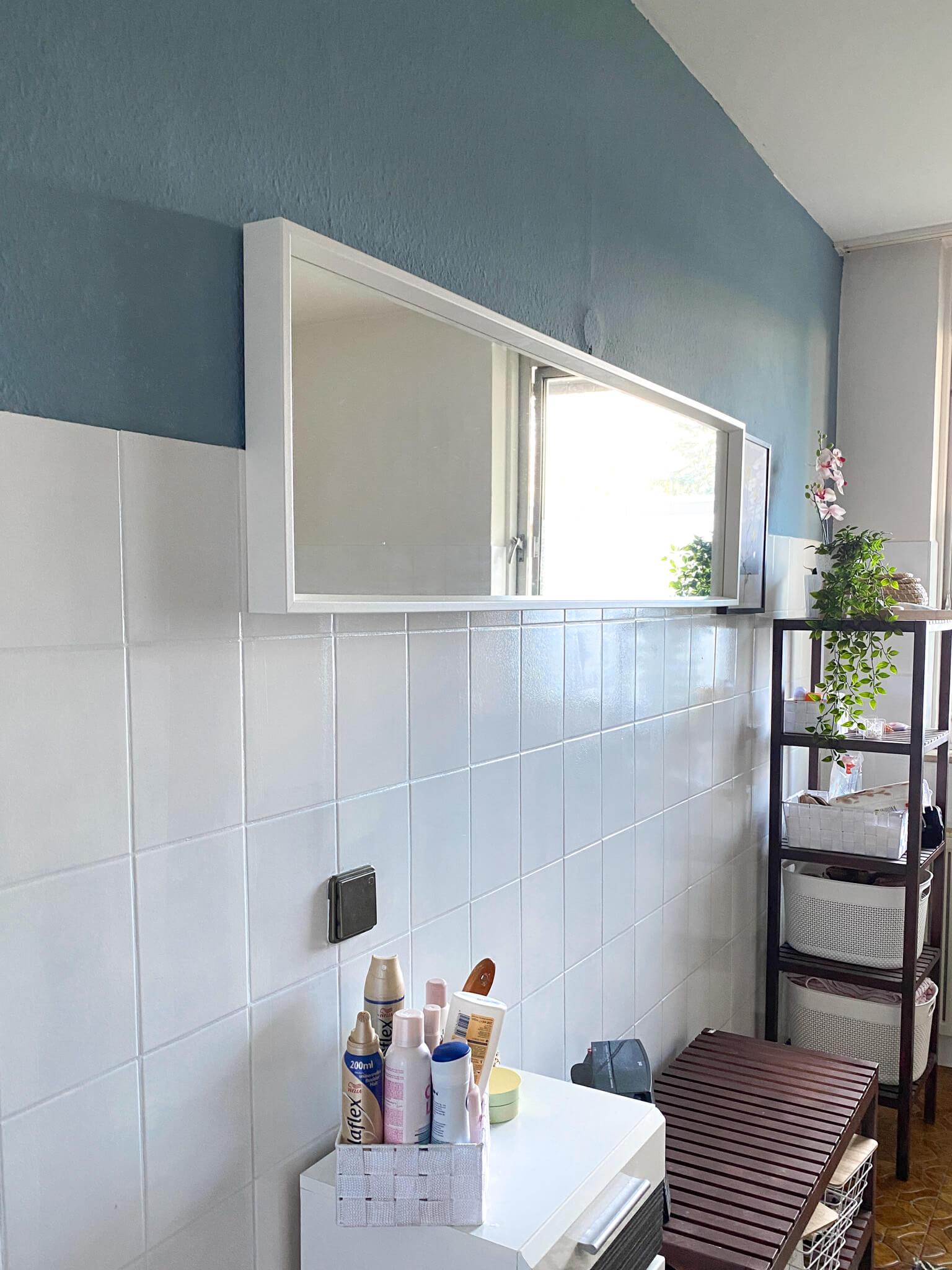 Badfliesen Streichen Badezimmer streichen