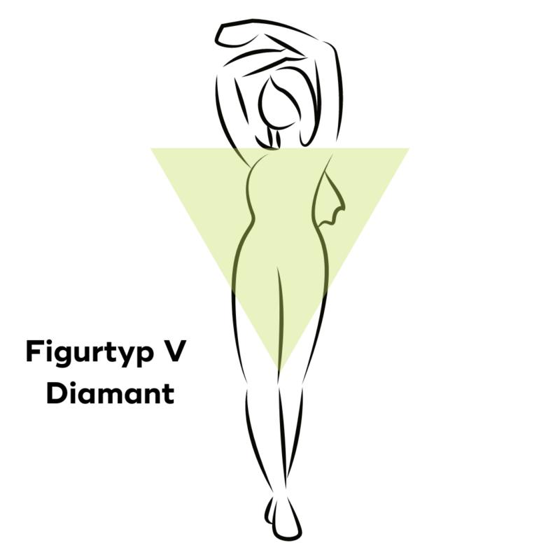 Figurtyp V Diamant